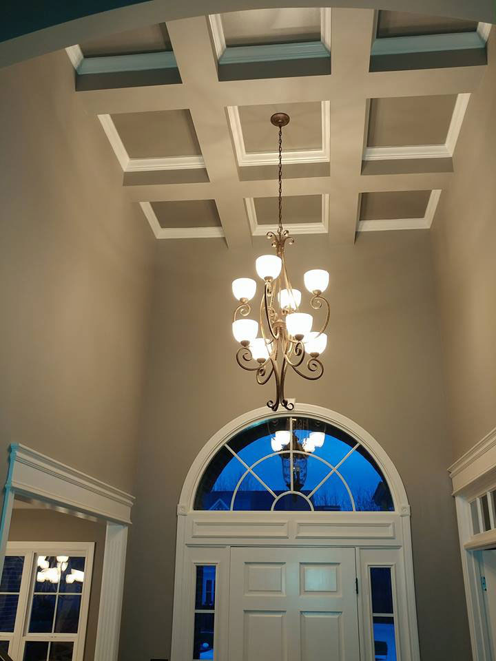 interior painting ceiling carmel, fishers, indianapolis, brownsburg